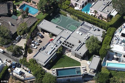 Biệt thự triệu đô của Leonardo Dicaprio tại Beverly Hill…