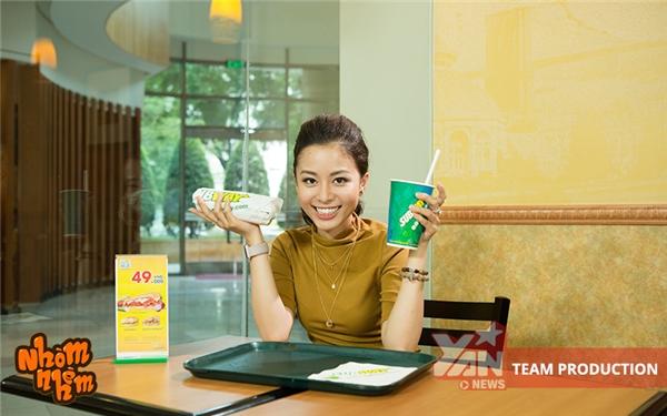 """Với slogan""""Subway Eat Fresh"""", bánh mì củaSubwayluôn đảm bảo những nguyên liệu tươi ngon nhất để phục vụ cho khách hàng."""