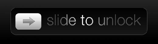 """""""Slide to unlock"""" thế hệ cũ"""