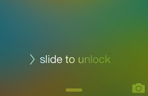 """… đến """"Slide to unlock"""" thế hệ mới"""