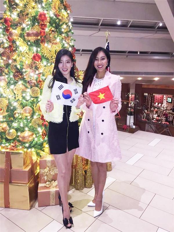 Trong đó, đại diện Hàn Quốc là bạn cùng phòng của Diệu Ngọc.