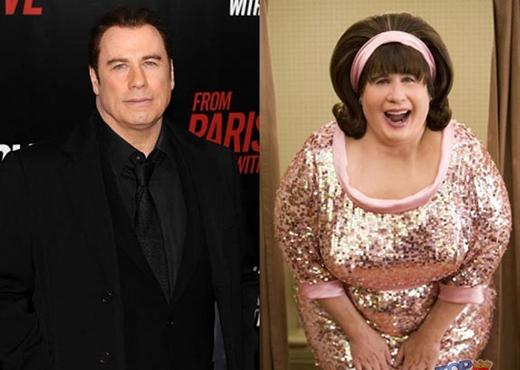 Phục sát đất kỹ thuật hóa trang của Hollywood: có thể biến người đàn ông vạm vỡ như John thành quý bà béo trong Hairspray!