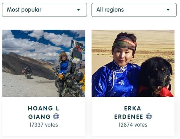 Tổng lượt bình chọn hiện tạitrên trangFjällräven Polar