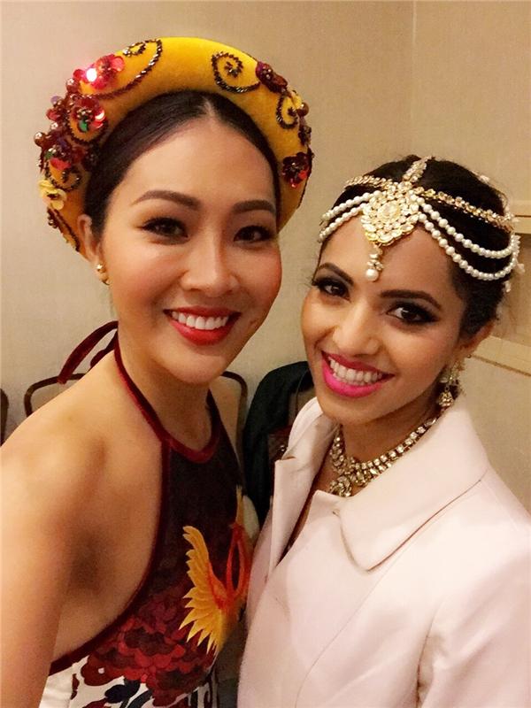Diệu Ngọc và Hoa hậu Fiji