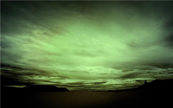 Brian kể về một bầu trời màu xanh thẫm dưới lòng đất.