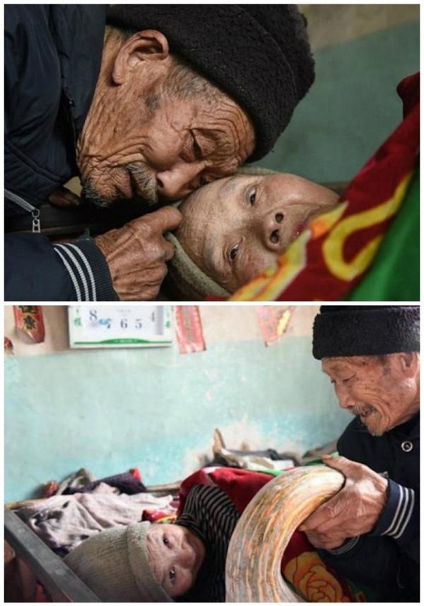 Do căn bệnh quái ác, bà Zhou đã bị bại liệt và mất đi khả năng sinh con như bao người phụ nữ khác.