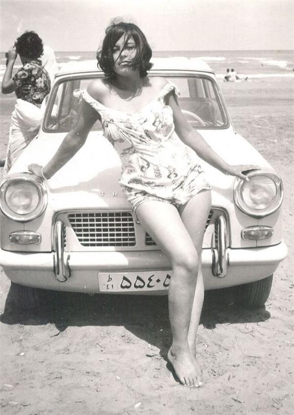 Một người phụ nữ Iran năm 1960.