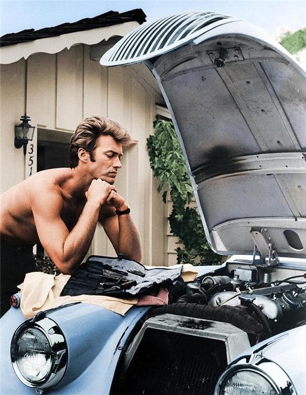 Clint Eastwood, 1958.