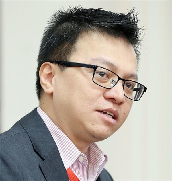 Nhà báo Lê Quốc Minh -Tổng biên tập báo Vietnam Plus