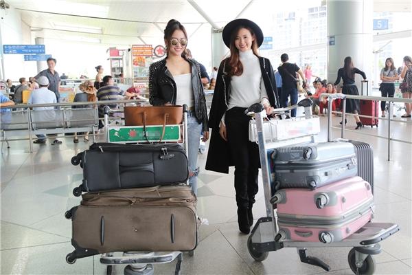 Dự kiến có mặt tại Hàn Quốc vào 19gtối nay, Trang Moon và Midu sẽ có mộtngày để tham quan và du ngoạn xứ sở kim chi. - Tin sao Viet - Tin tuc sao Viet - Scandal sao Viet - Tin tuc cua Sao - Tin cua Sao
