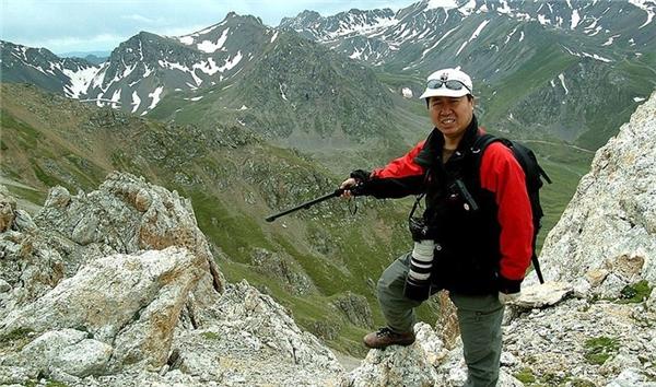 ÔngLiWeidong - người phát hiện ra Ili Pika.(Ảnh: Internet)