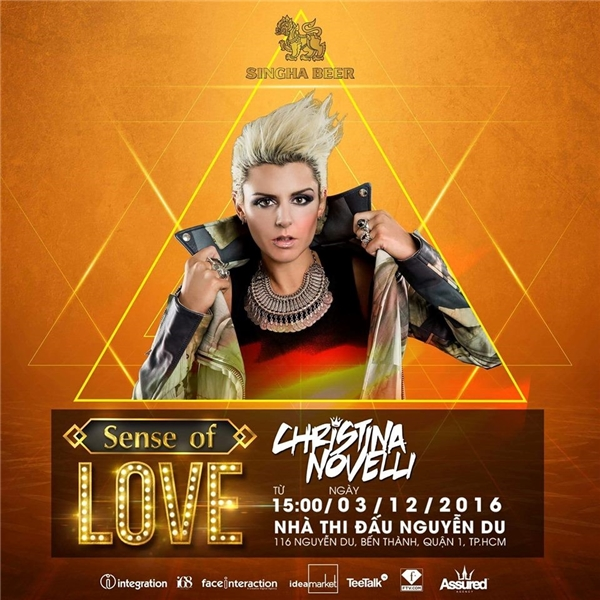 Nữ Vocal Trance Christina Novelli.