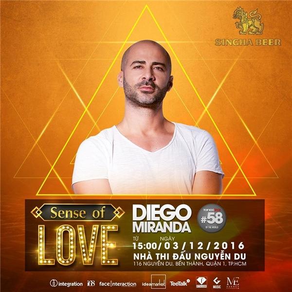 Top 58 DJMag Diego Miranda.