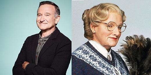 """Một vai diễn """"giả gái"""" nổi tiếng của cố ngôi sao Robin Williams!"""