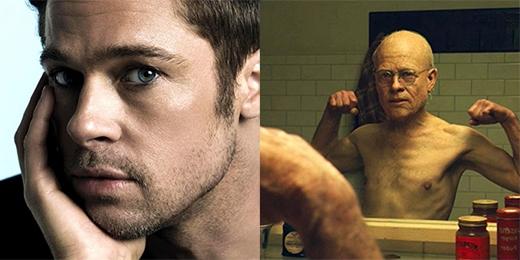Ai có thể nghĩ ông già trong Dị nhân Benjamin là do tài tử Brad Pitt thủ vai được chứ?
