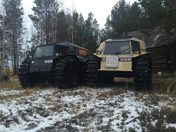 """Siêu xe địa hình của Nga có """"tận thế"""" cũng không sợ chết"""