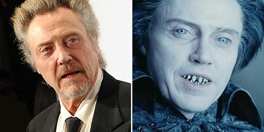 """Chỉ cần hi sinh bộ răng, ngôi sao kỳ cựu Christopher đã có thể làm người xem""""khóc thét""""!"""