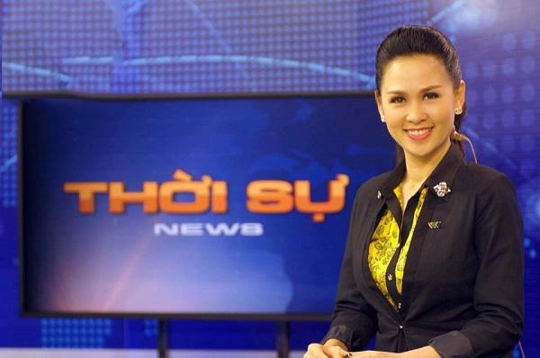 Thúy Hằngbắt đầu lên sóng trong chương trình thời sự 19h của VTV vào năm 2014.
