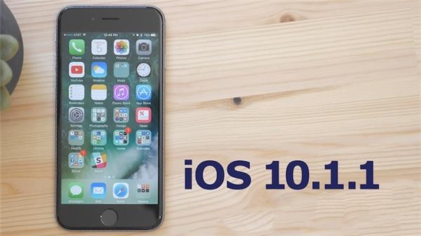 Gặp vấn đề về pin khi nâng cấp lên iOS 10.1.1. (Ảnh: internet)
