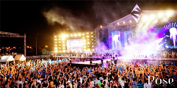 Kim Long từng thực hiện media trong sự kiện Future Now Music Festival 2014.