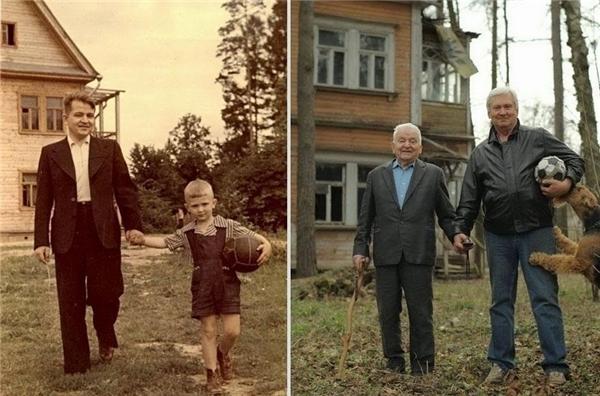 #3 Cha và con qua thời gian.(Ảnh: Life Buzz)