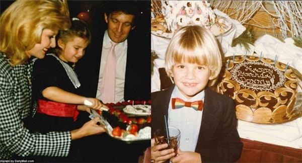 Các buổi tiệc sinh nhật của công tử, tiểu thư nhà Trump luôn được tổ chức rất hoành tráng với sự tham gia của cả gia đình.