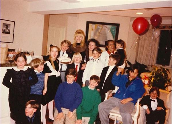 Tiệc sinh nhật của quý tử nhà Trump bên những người bạn của mình.