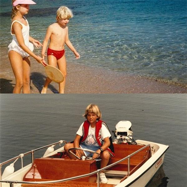 Khi còn nhỏ,Donald Jr., Ivanka và Eric thường được bố mẹ dắt đi nghỉ dưỡng và du lịch xa, tham gia các hoạt động như du thuyền, đạp xe, bơi lội...