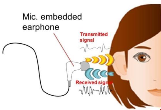 Cấu tại công nghệ bảo mật bằng lỗ tai. (Ảnh: internet)