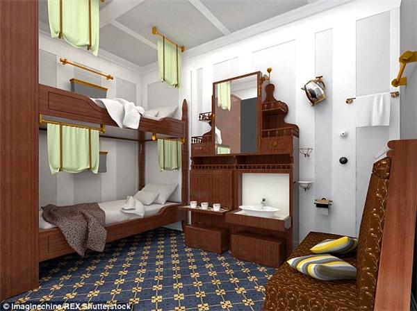 Một thiết kế phòng trên tàu