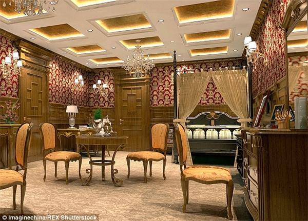 Đây là một trong những căn phòng trị giá gần 330 triệu đồng.