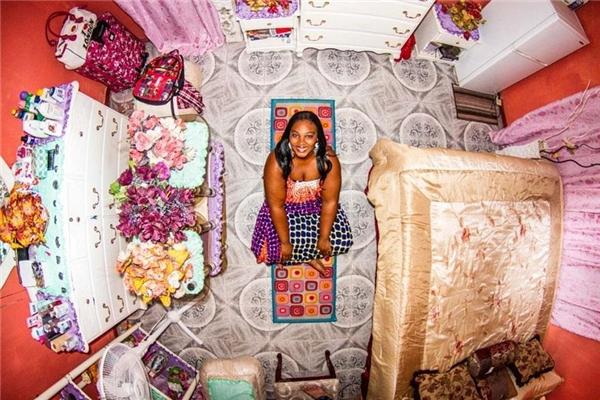Camille,Kingston, Jamaica.