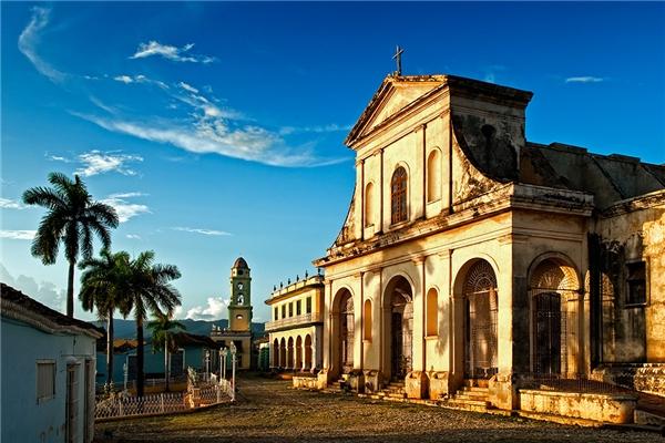 Valadero - bãi biển đẹp thần thánh chỉ cách thủ đô La Havana 100 cây số. (Ảnh: Internet)