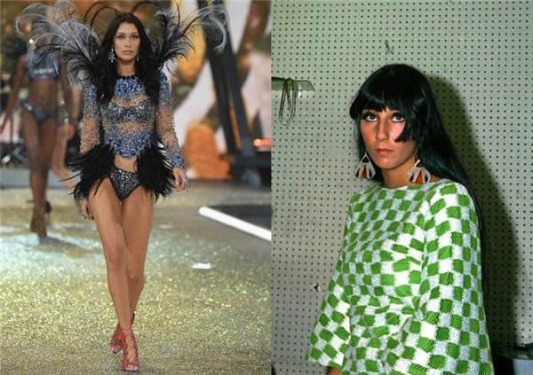 Đây đích thị là Cher một thời rồi. Bella Hadid chưa bao giờ khiến người ta hết bất ngờ với những biểu cảm của mình trên sàn catwalk.