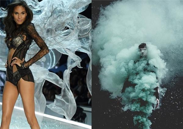 Còn đây là làn khói mỏng manh phất phơ trong chiều.