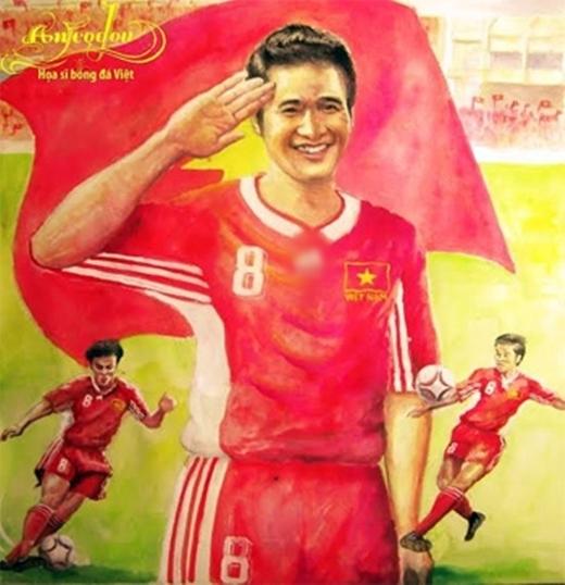 Anhđã trở thành huyền thoại của bóngđá Việt Nam.