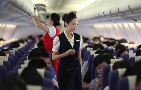 Cô gái xinh đẹp này thực sự là niềm tự hào của Shenzhen Airlines.