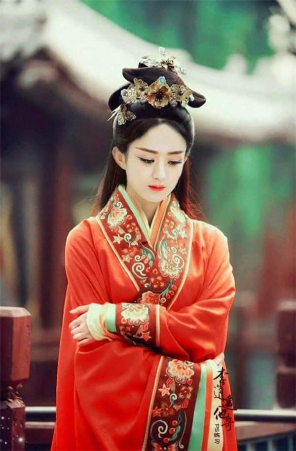 Triệu Lệ Dĩnhvaiquốc vương Nữ Nhi Quốc.