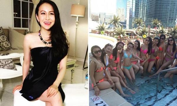 """Chelsea trong chương trình thực tế """"Những thiếu nữ châu Á siêu giàu""""."""