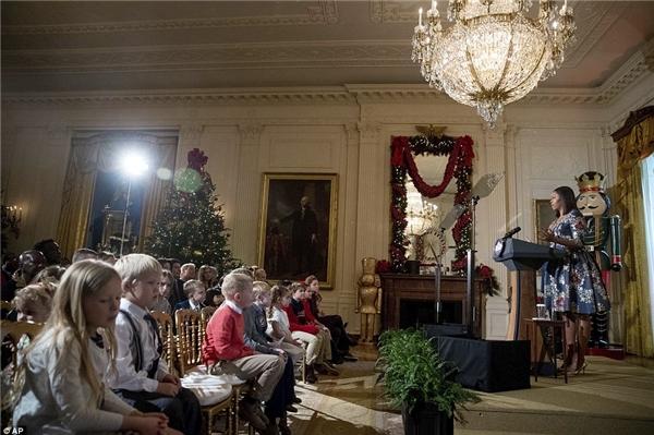 Nhà Trắng rực rỡ mừng giáng sinh cuối cùng Tổng thống Obama tại vị