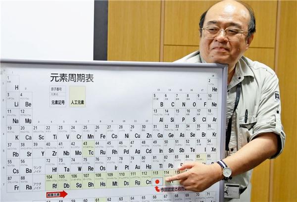 Một nhà nghiên cứu lí giải về đặc điểm của nguyên tố mới.