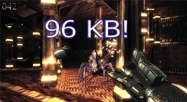 Game .kkrieger có dung lượng siêu nhẹ không tưởng. (Ảnh: internet)