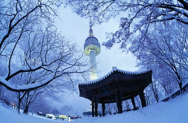Những khung cảnh mùa đông tuyệt đẹp tại xứ sở Kim Chi không thể bỏ lỡ.