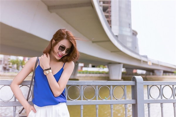 Cô nàng xinh đẹp, cá tính Diệp Lâm Anh cùng…