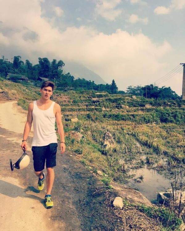 Trong chuyến viếng thăm Việt Nam lần này, Andyđã đếnnhiều địa điểm nổi tiếng như Sapa,Hà Nội, Hạ Long, Ninh Bình.