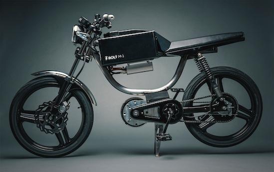 Tổng thể xe máy điện Bolt M1. (Ảnh: internet)
