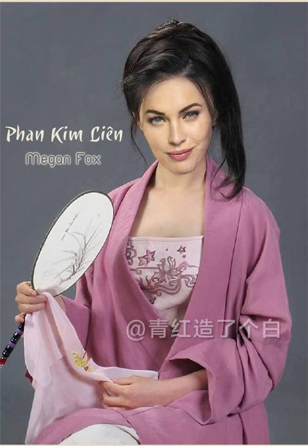 """Megan Fox quả thực rất hợp vai Phan Kim Liên, tuy nhiên giữa cô nàng và anh chàng """"Loki"""" lại chẳng có chút... xúc tác nào cả. Fan không ship cặp đôi này."""