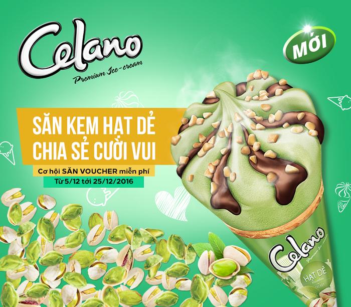 Chương trình tặng kem miễn phí chưa từng có của Celano
