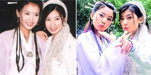 Vào vai diễn cùng là những người yêu Trương Vô Kỵ trong Ỷ Thiên Đồ Long Ký (2003), cả Triệu Mẫn (Giả Tịnh Văn) và Chu Chỉ Nhược (Cao Viên Viên) khiến người theo dõi phim không thể rời mắttrước tạo hình lung linh, xinh đẹp.