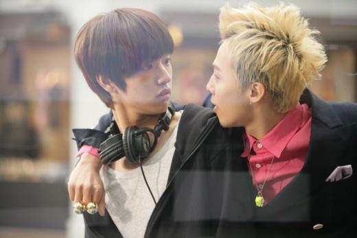 Shin Won Hoquay quảng cáo cùng GD.